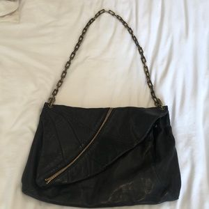 Kooba authentic leather bag in black
